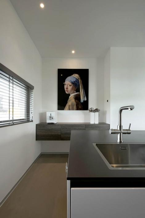 Moderne leefkeuken