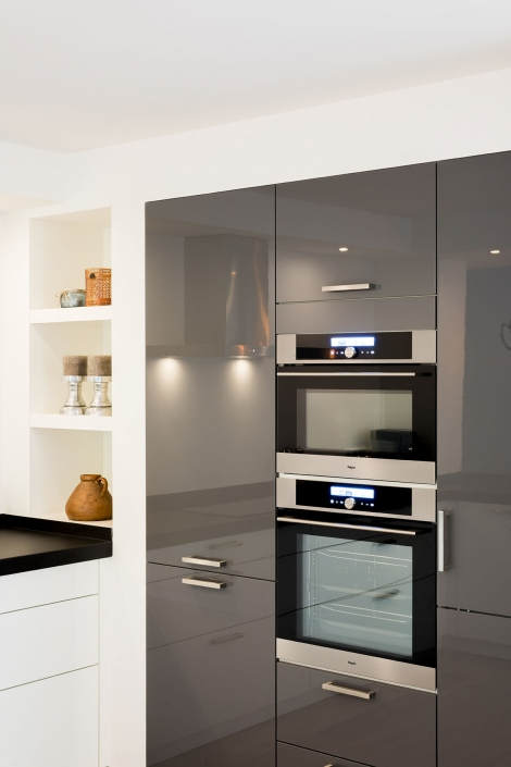 Diverse keukenapparatuur open keuken