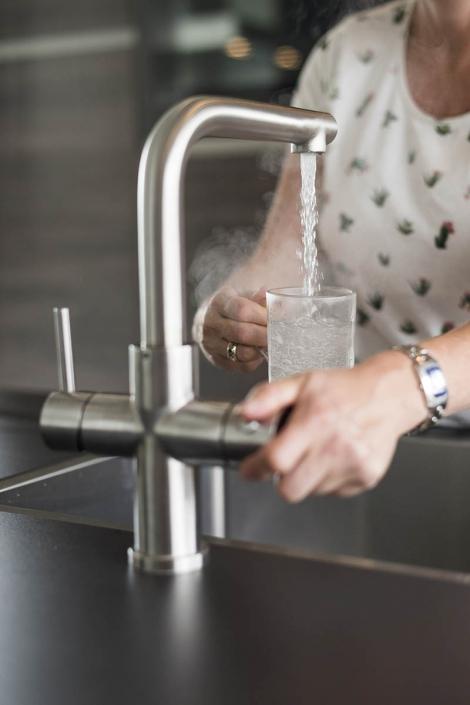 Kokend water kraan
