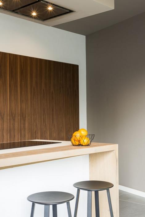 Licht houten keuken