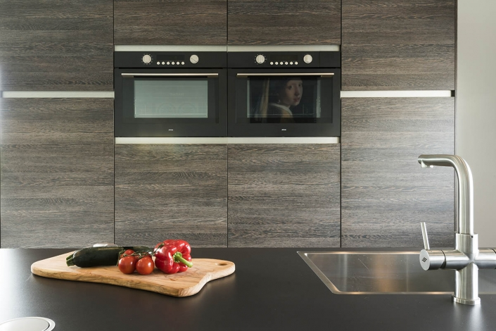 Keuken apparatuur in design keuken