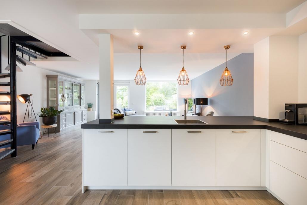 Open leef keuken