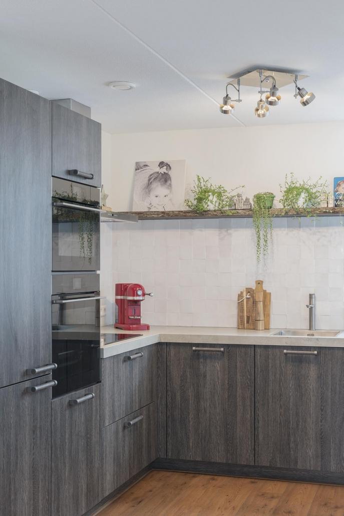 Ruime robuuste keuken