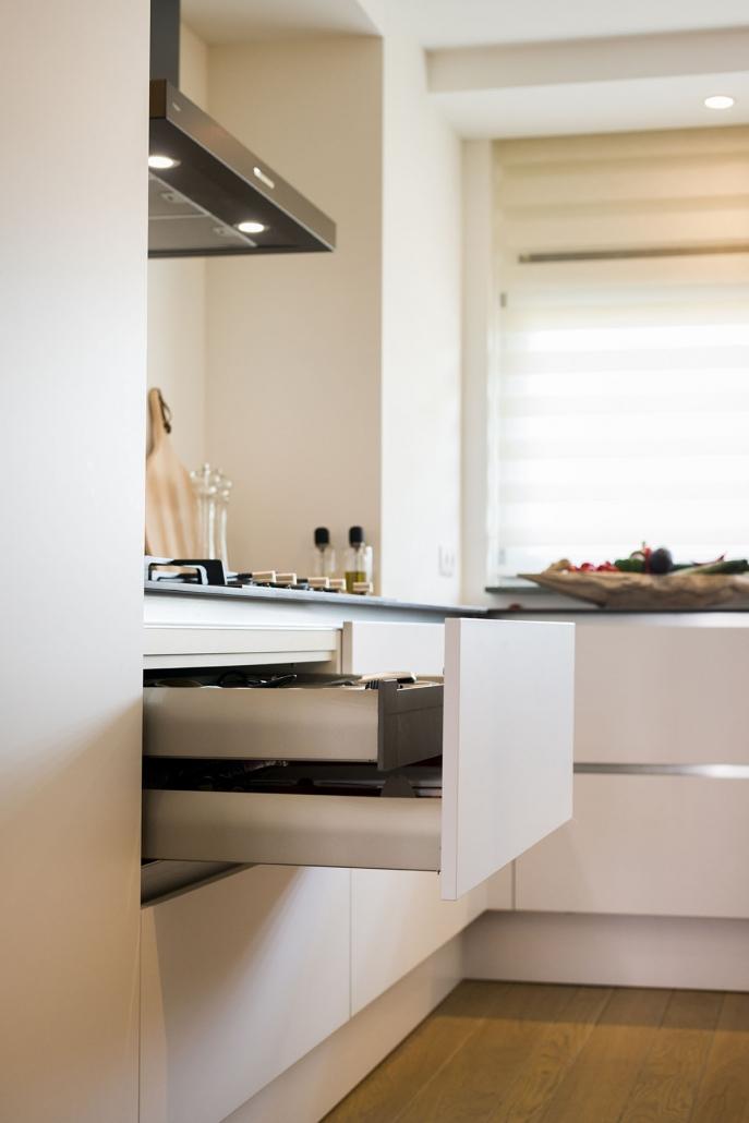 Moderne keukenladen