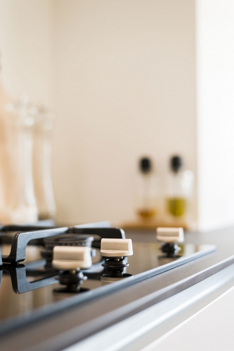 Moderne gaskookplaat