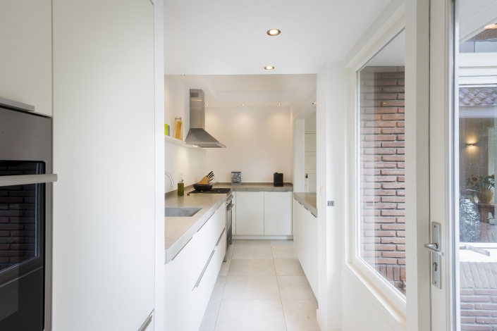 Keuken met veel opberg ruimte