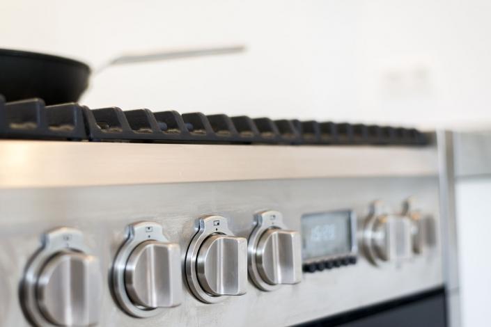 Gaskookplaat robuuste keuken