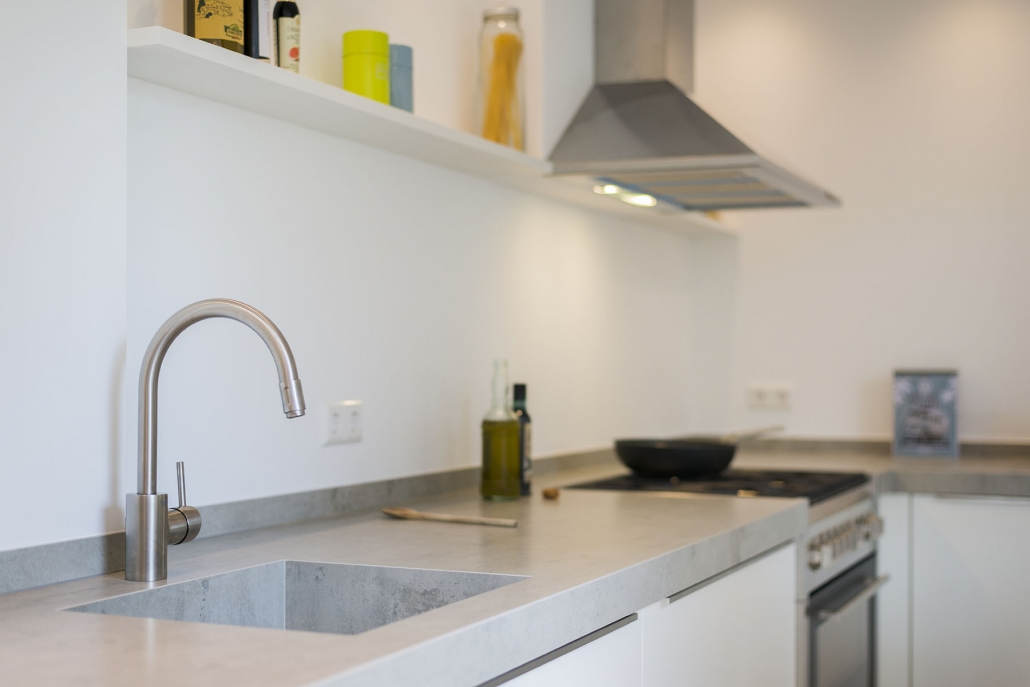 Robuuste lichte keuken