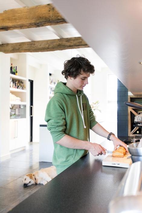 Moderne famile keuken