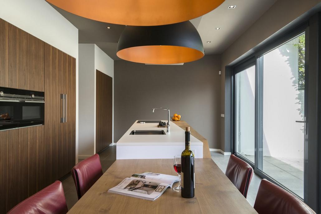 Ruime design keuken