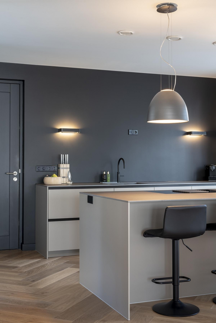 Stoere moderne keuken