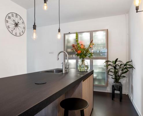 Keuken Zenner hout modern strak